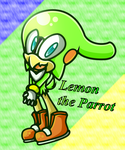 Lemon the Parrot ((AT WITH DRAWLOVERLALA)) by 1XxAcexX1
