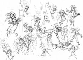 Cammy Sketches by donsimoni