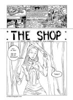 The Shop - Minicomic by Kimbot