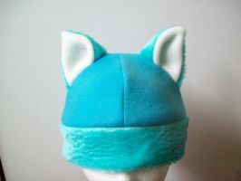 Wonderland Ice Cat Hat by WonderlandCreations