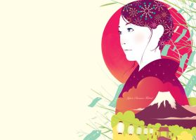 Japanese Festival Illustration by narm