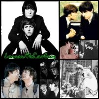 Lennon-McCartney by teamfreewillangel