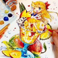 Mango Power Summer Splash! by Naschi