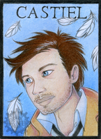 Aceo Castiel #008 by Pfauenauge