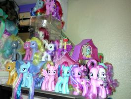 2013 My Little Pony G4 Collection Update by Amyatpebble