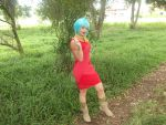 Cosplay Bulma Briefs by laismirre