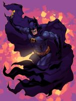 TO THE BATMOBILE by Ross-A-Campbell