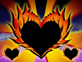 Hearts on Fire by Tuile