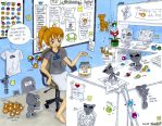 Behind the Scenes of dA by PuccaNoodles2009