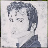 David Tennant by cattybonbon