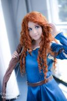 Merida brave cosplay by sanchanclau