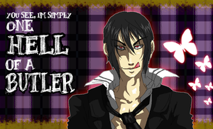 .::One Hell of a Butler::. by Manicfool