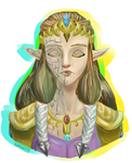 Puppet Zelda by kyasurina