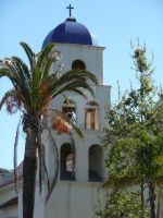 Old Stucco Church by Elle-Arden