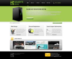Web Hosting company design by View9