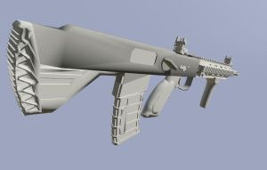 Heckler And Koch Modular Combat Rifle WIP by EricJ562