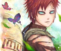 Gaara for 727 by lilacerise