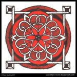 Under the Red Sky Mandala by Quaddles-Roost