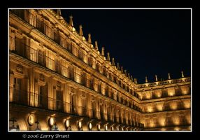 Salamanca at Night 5 by inessentialstuff