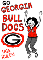 HaM: GO GEORGIA BULLDOGS! by KitKatMuffin