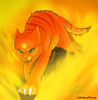 Firestar (Speedpaint!) by DrakynWyrm