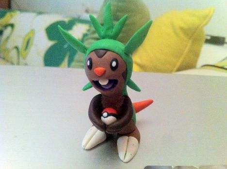 #???- Chespin by UniqueT