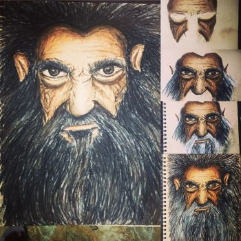 Gandalf by thecolourpeople