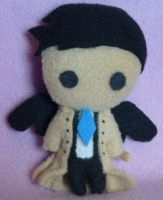 Castiel Plush Trial Run by AmberTDD