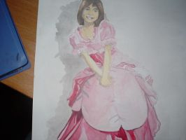 princess sarah in watercolor by eugeneforever2003