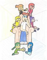 Color Kids COLORED VERSION by Lily-Starlight