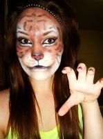 Tiger Makeup by Caitlinlovesgreenday