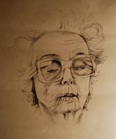 Cool granny portrait by blueblueelectricblue