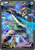 Link Pokemon card by Tahu1179