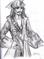 Captain Jack Sparrow by depplosion