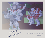 That's Unexpected... by xenotechnophile