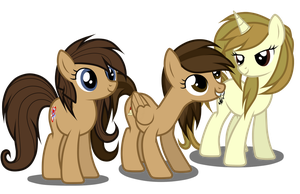 The Lovely Trio by JunkiesNewb