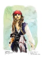 Captain Jack POTC4 by amoykid