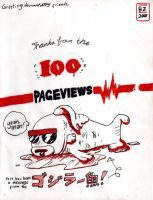 100 Pageviews by brianskywalker