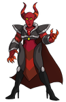 Red Onyx (AT with thesphinxden) by AccursedAsche