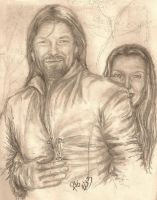 Out with Boromir by rstrider9