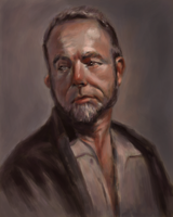 Digital Oil Portrait by LilioTheOne