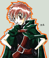 First Pic 2009 - Syaoran by HaruEta