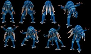 Spore Creation: Cephalite by Existent-effigy
