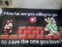 Super Mario 3 Perler Beads by vudumonkey25