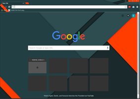 orange - google chrome theme by MangaServer