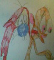 Ren and Stimpy: by MollyKetty