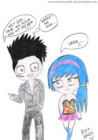 Andy Biersack pick-up line. by KyraWalsh