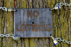 No Loitering by Scotophobic