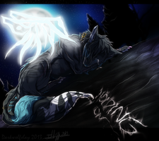 .:Holding On:. (PC)[Speedpaint] by Indecisus