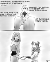 tenzin on mawwiage by Utena-sama